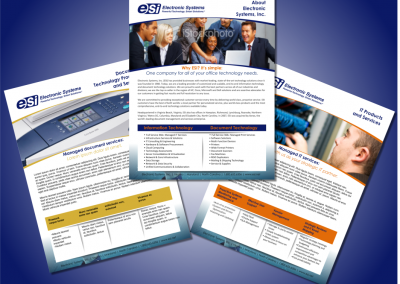 ESI Product Sheets