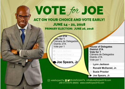 Early Voting Postcard-Front