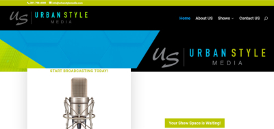Urban Style Media Website